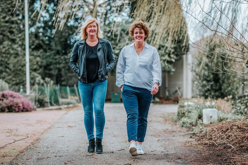 Wandelen met Marianne en Jose - HIP Coaching Westland